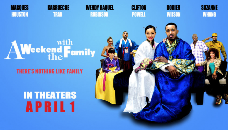 A Weekend With The Family Starring Karreuche Tran