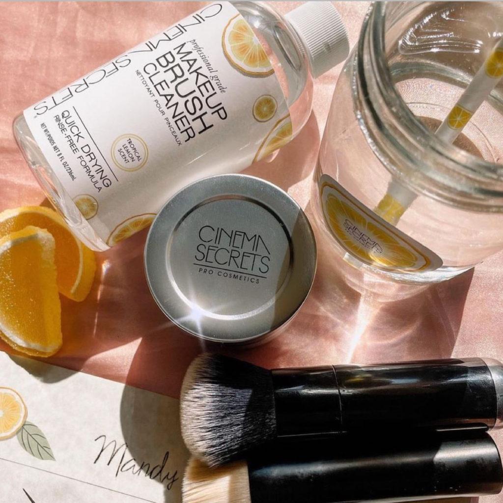 Cinema Secrets Tropical Lemon Makeup Brush Cleaner